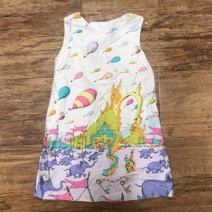 Dr. Seuss Toddler Dress. Size 2T.